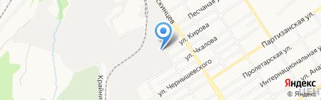 Автореал на карте Барнаула