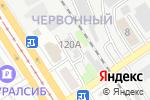 Схема проезда до компании Гаражный потребительский кооператив в Барнауле