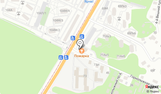 Аптека. Схема проезда в Барнауле