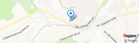 Джавахк на карте Барнаула