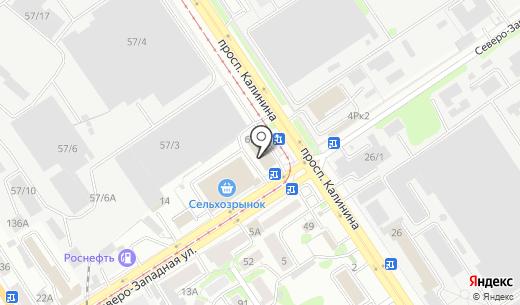 Феникс. Схема проезда в Барнауле