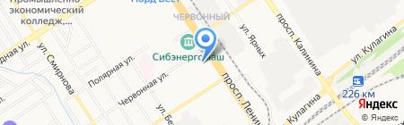 Территориальный орган Росздравнадзора по Алтайскому краю на карте Барнаула