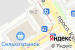 Схема проезда до компании Феникс в Барнауле