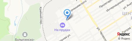 КФК на карте Барнаула