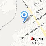 Велес на карте Барнаула