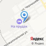 Средняя общеобразовательная школа №54 на карте Барнаула