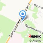 Платьице и Шторочка на карте Барнаула