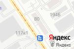 Схема проезда до компании ЗАМОК-ПЛЮС в Барнауле