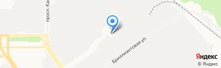 Время обеда на карте Барнаула