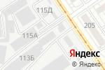Схема проезда до компании РТК МЕРКУРИЙ в Барнауле