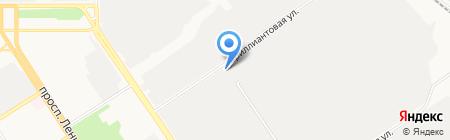 Станкопресс на карте Барнаула