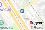 Схема проезда до компании АВТОshop в Барнауле
