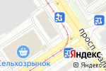 Схема проезда до компании Стоматологический кабинет в Барнауле