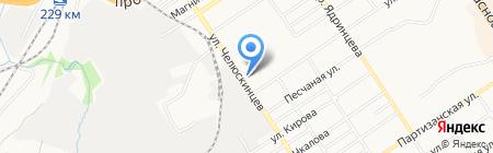 Клининг Групп на карте Барнаула