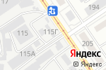 Схема проезда до компании Продсервис в Барнауле