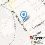 Полимаркет на карте Барнаула