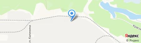 Яруна на карте Барнаула
