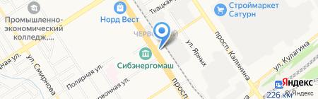 Style на карте Барнаула