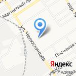 Хозяйственник на карте Барнаула