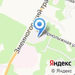 Барнаульский дом-интернат для престарелых и инвалидов (ветеранов войны и труда) на карте Барнаула