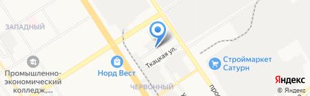 КолорСити на карте Барнаула