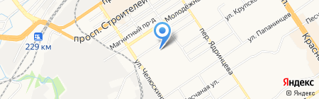 Руфь на карте Барнаула