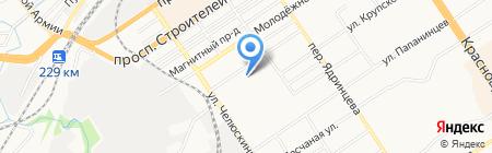 Кондитер-торг на карте Барнаула