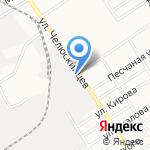 Фазенда на карте Барнаула