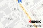 Схема проезда до компании Примануха в Барнауле
