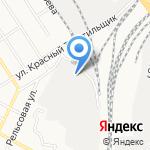 Алфит на карте Барнаула