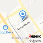 Хорс-ХимМед на карте Барнаула