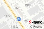 Схема проезда до компании Полимаркет в Барнауле
