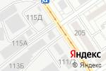 Схема проезда до компании Юникс-Строй в Барнауле