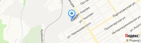 Мастерская по ремонту топливной дизельной аппаратуры на карте Барнаула