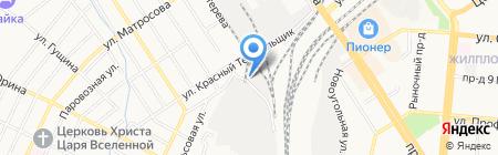 Прагма на карте Барнаула