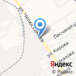 Аквилон-Вектор на карте Барнаула