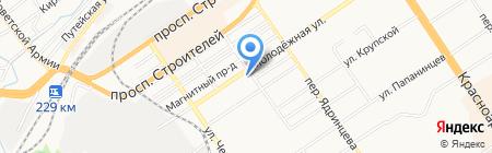 ДжениКрис на карте Барнаула