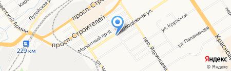 Автоматизированные Системы Мониторинга на карте Барнаула