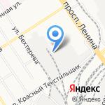 Цитадель на карте Барнаула