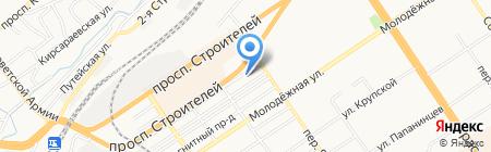 Специальная электроника на карте Барнаула