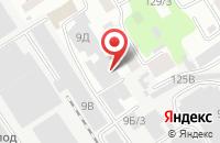 Схема проезда до компании Форфас в Барнауле
