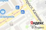 Схема проезда до компании СК АЛТАЙ в Барнауле