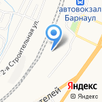 Стрела-Транс-Алтай на карте Барнаула