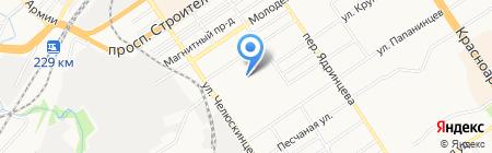 Барнаульский завод металлоизделий на карте Барнаула