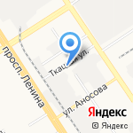 ЗапСибНИИпроект на карте Барнаула