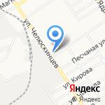 Пельмень на карте Барнаула