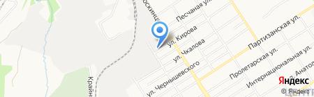 Алтайобувь на карте Барнаула