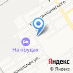 Саюнчик на карте Барнаула
