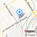 Дар Алтая на карте Барнаула
