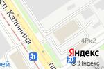 Схема проезда до компании Автотехсервис в Барнауле